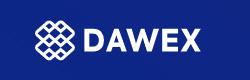 DAWEX logo blue background pic 2